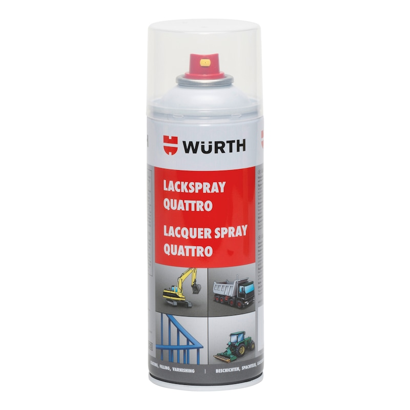 Festékspray Quattro - QUATTRO FESTÉKSPRAY TISZTA FEHÉR 400 ML