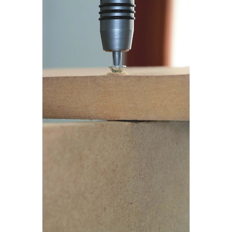 Vis à bois à effet ultra serrant ASSY<SUP>®</SUP> 3.0&nbsp;P zingué double filetage - VIS ASSY P - AW 20 -  3.5X40/23