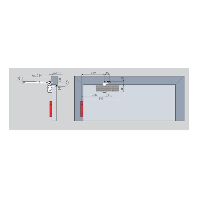 Türschließer STS 291 mit Scherengestänge - 3