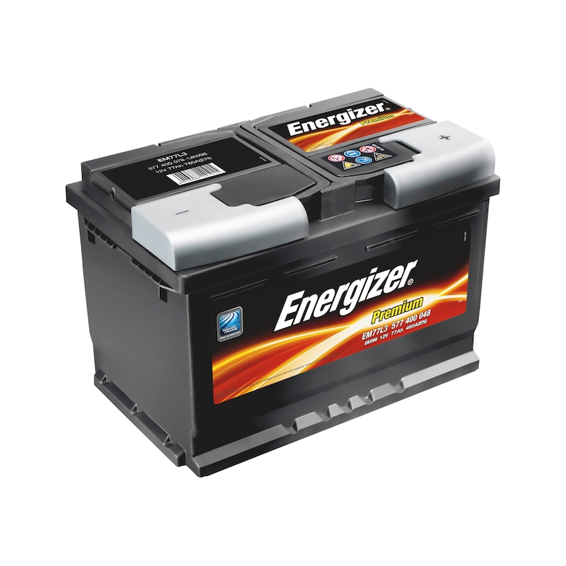 Starterbatterie KFZ  Energizer Premium - STARTBATT-PKW-(ENERGIZER-PREMIUM)-EM77L3