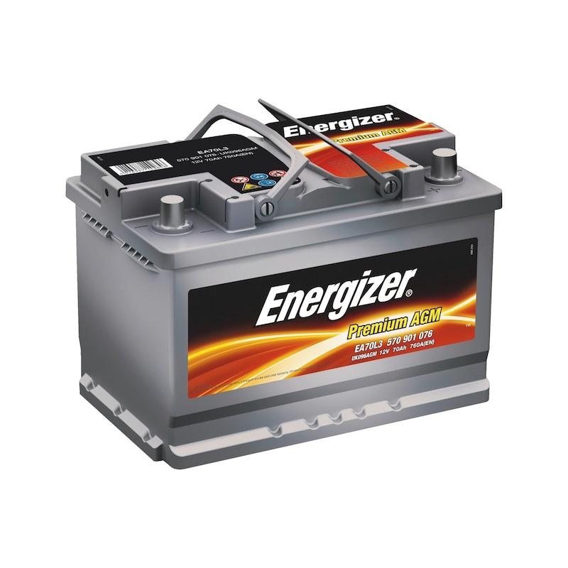 starterbatterie kfz energizer premium agm 0510500403. Black Bedroom Furniture Sets. Home Design Ideas