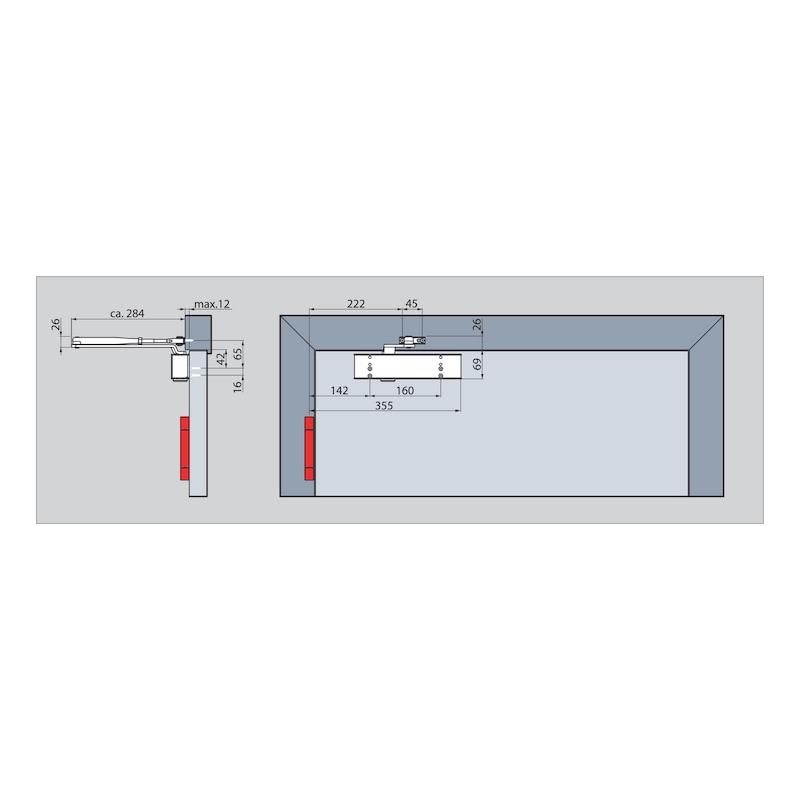Türschließer STS 370 mit Scherengestänge - 3