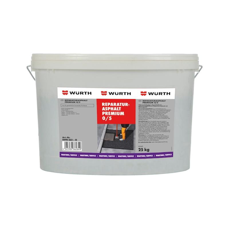 Reparaturasphalt Premium - REPASPH-PREMIUM-K0/5-25KG