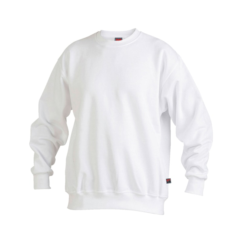 Sweatshirt - SWEAT-SHIRT WEISS 3XL