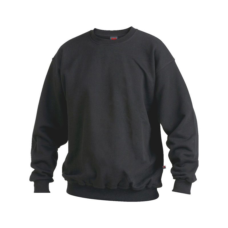Sweatshirt - SWEAT-SHIRT BLACK M