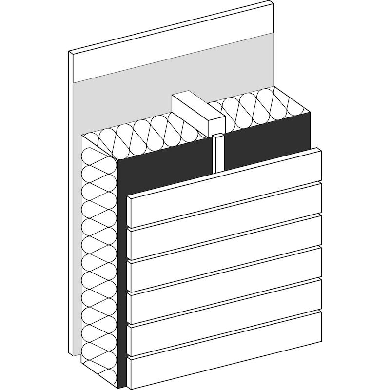 Fassadenbahn WÜTOP<SUP>®</SUP> Duo Fassade Plus - 3