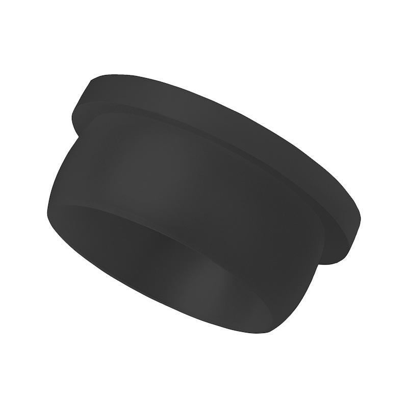 Tappo sigillante GPN 300 F nero - TAPPO-CHIUSURA-GPN300-F181-21,4-NERO