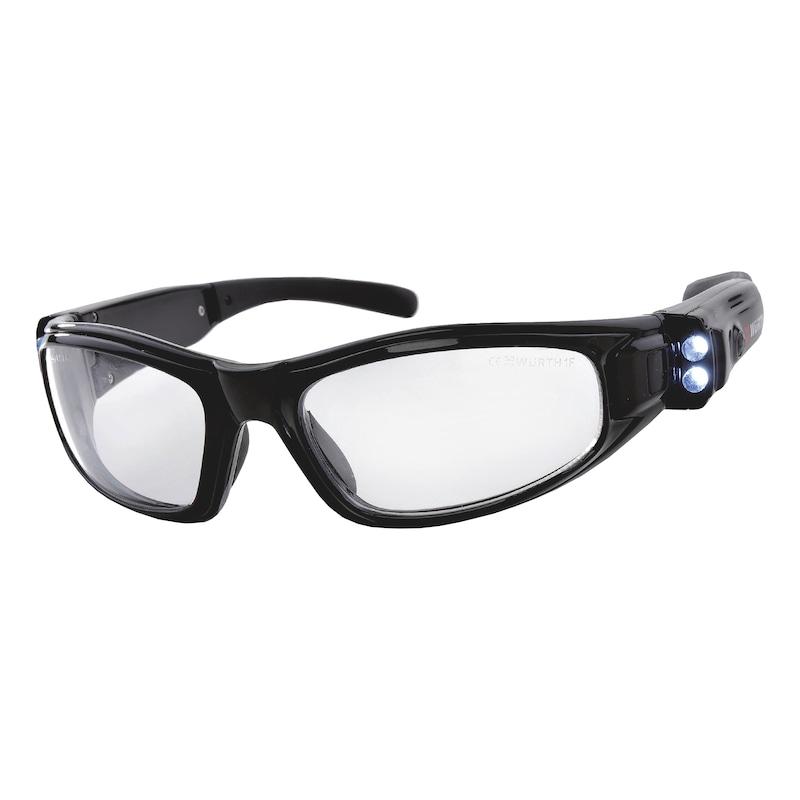 Ochranné okuliare s osvetlením LED - OKULIARE S LED