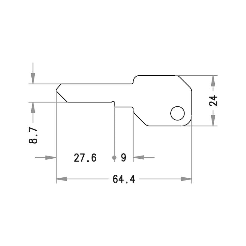 Zusatzschlüssel EPS - 2