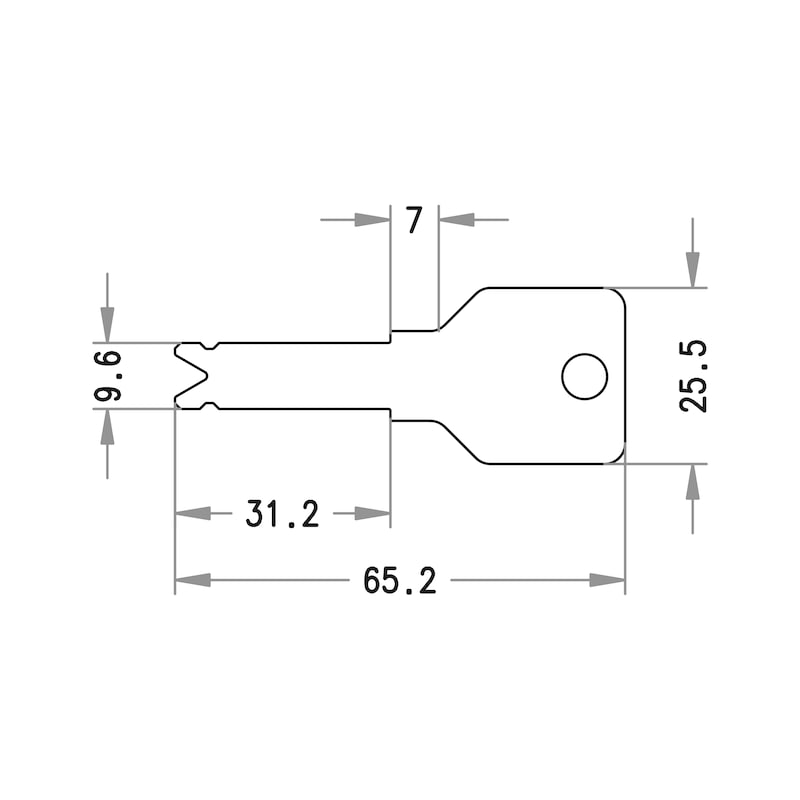 Zusatzschlüssel 3KS Plus - 2