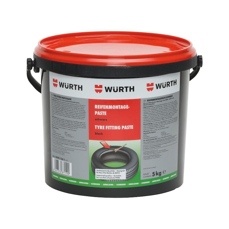 Dækmonteringspasta - LUB-TREFITT-PASTE-BLACK-5KG