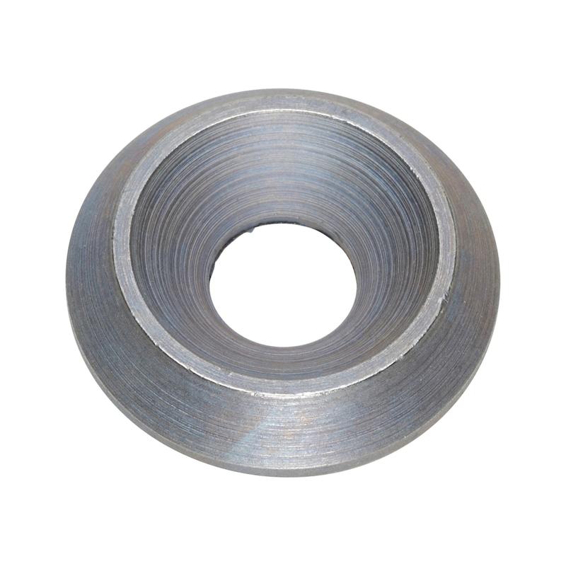 Senkscheibe Unterlagscheibe flach Zink Nickel - 1