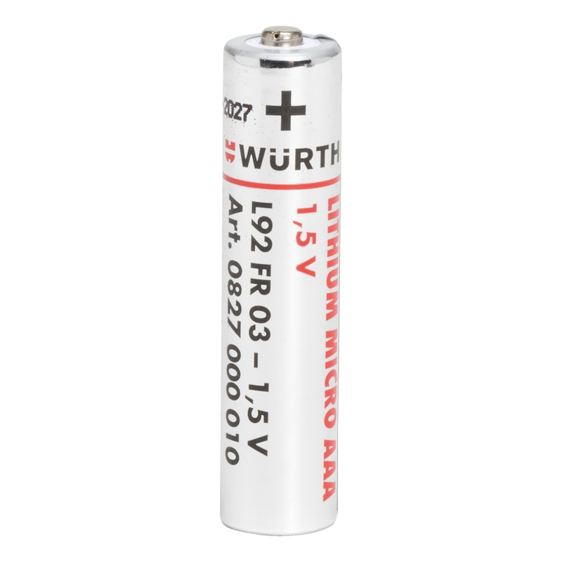 Lithium-Batterie - 1