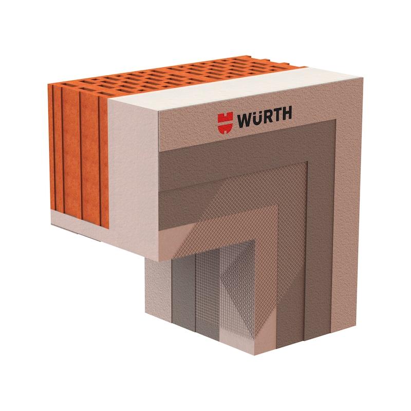 Gewebe-Sturzeckwinkel - 2