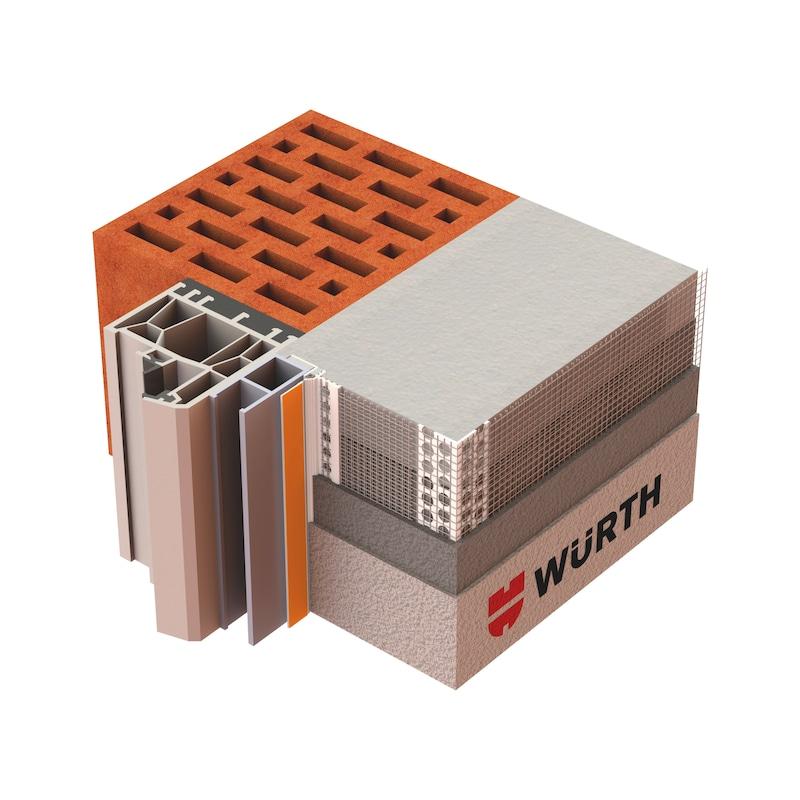 Rollladenanschlussprofil 3D Plus - 2