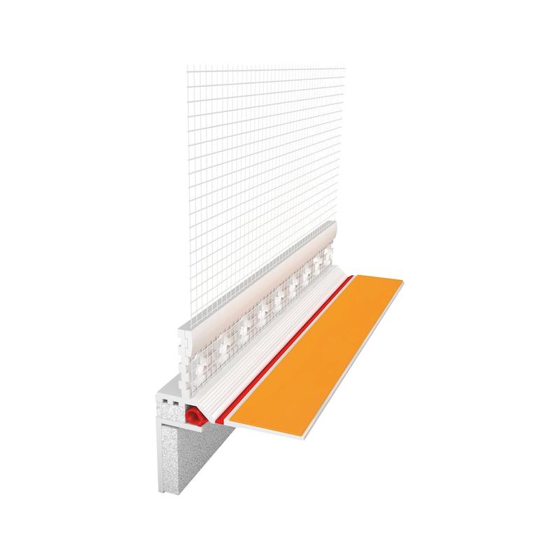 Rollladenanschlussprofil 3D Plus - 1