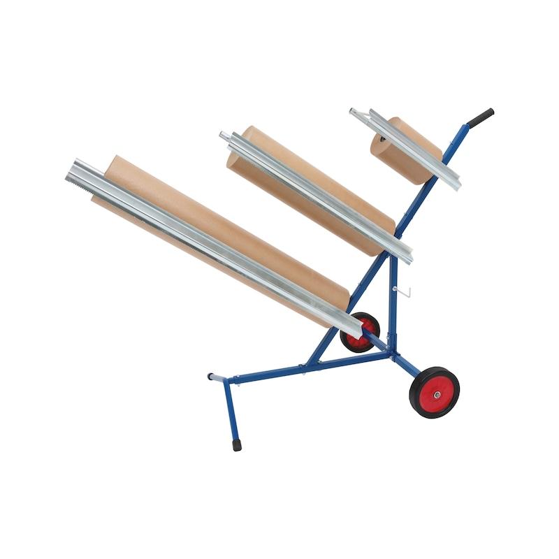 Papierabrollwagen