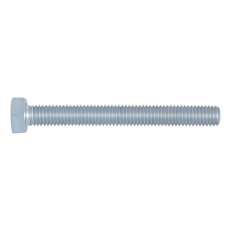 Sechskantschraube mit Gewinde bis Kopf - SHR-6KT-DIN933-8.8-SW17-(A2K)-M10X125