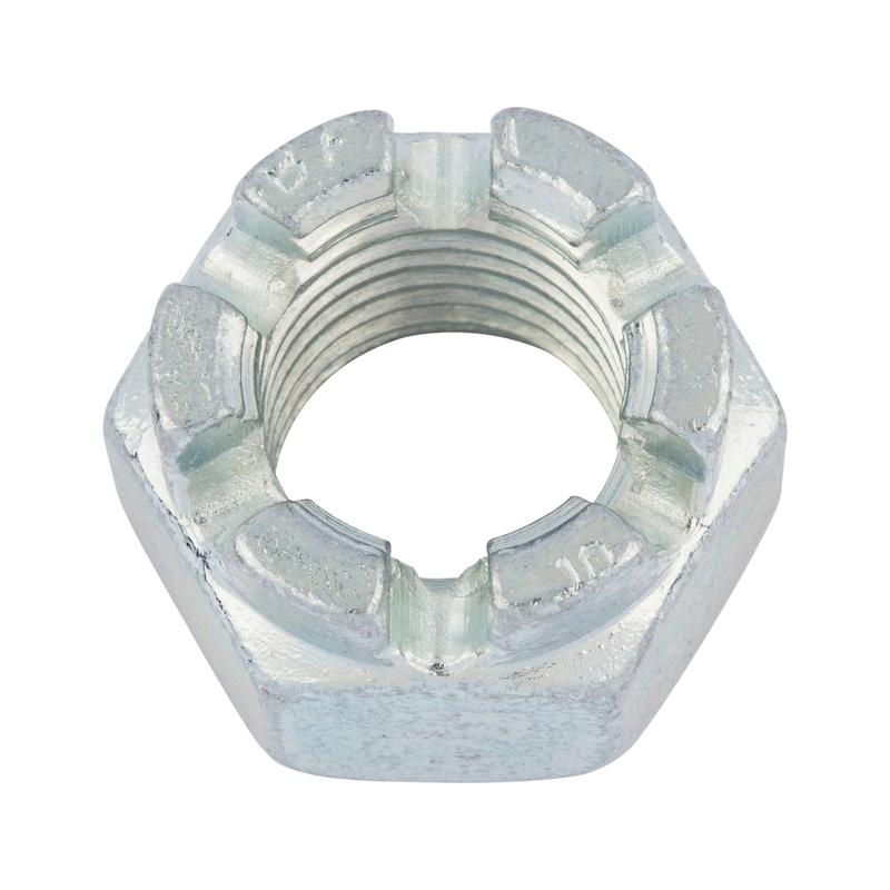 Kronenmutter - MU-KRO-DIN935-8-A-SW17-(A2K)-M10