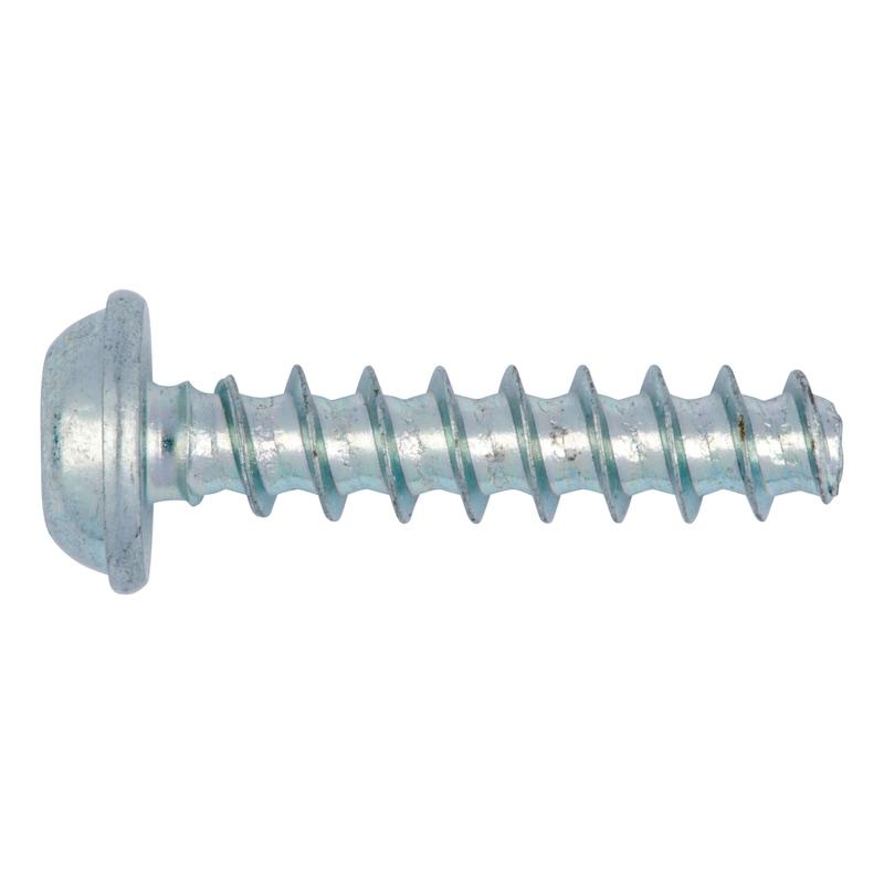 WÜPLAST<SUP>® </SUP>Linsenkopfschraube mit Flansch und Innensechsrund - SHR-FLSH-W1451-TX20-10.9-(A3K)-4X25