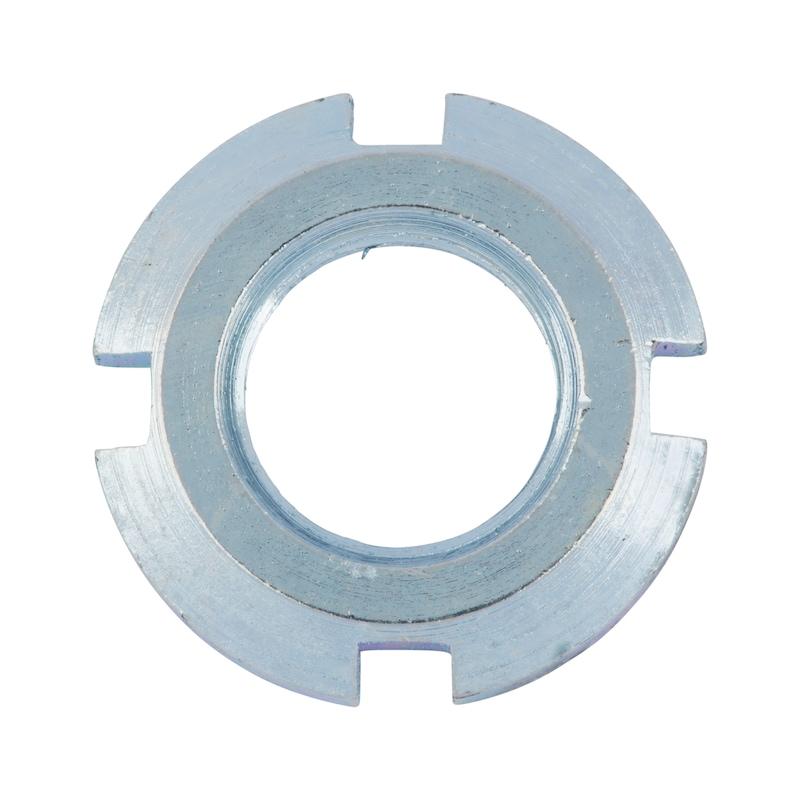 Nutmutter für Spannhülse - MU-NUT-DIN981-(A2K)-KM20-M100X2