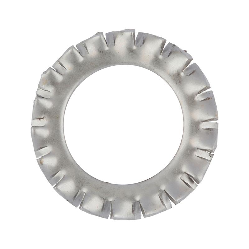 Fächerscheibe außengezahnt Form A - SHB-FAECH-DIN6798-A2-AZ-D3,7