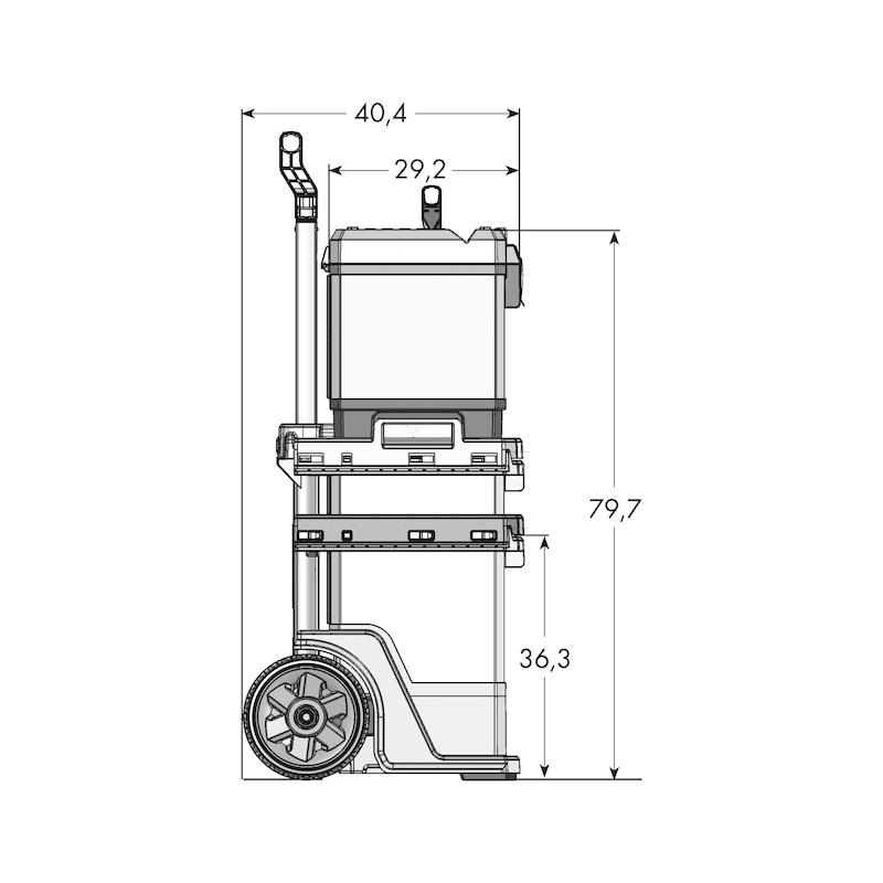 Wózek do skrzyni narzędziowej - 3