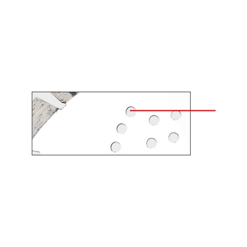 Disque diamant FIREBLADE - DISQUE DIAMANT FIREBLADE Ø230 MM