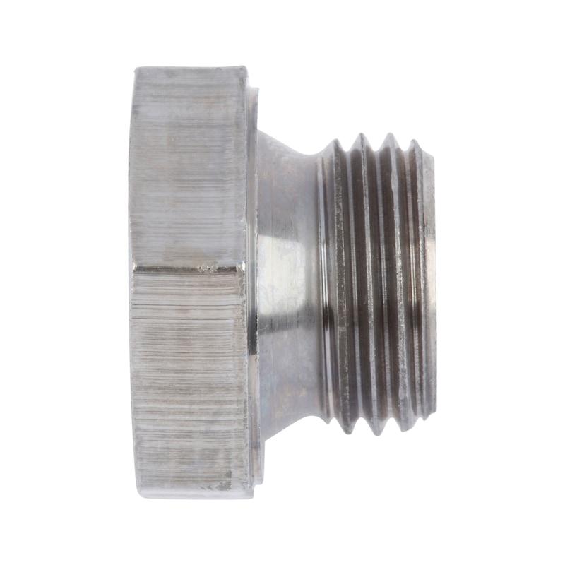 Verschlussschraube mit Außensechskant, kurzer Einschraubzapfen - 1