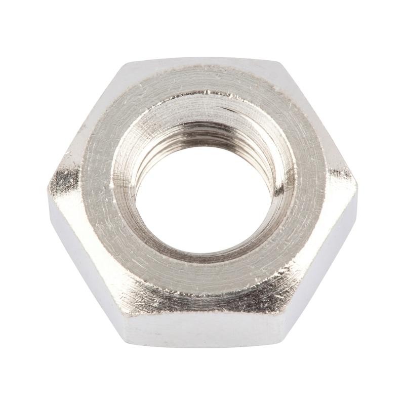 Dado esagonale, forma bassa - NUT-HEX-ISO4035-BRS-WS8-(E2J)-M5