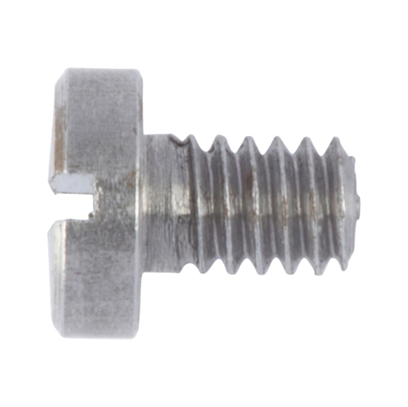 Zylinderschraube mit Schlitz - SHR-ZYL-DIN84-4.8-M10X65