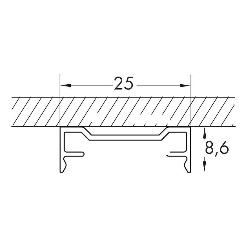 Profilé de LED en aluminium - 3