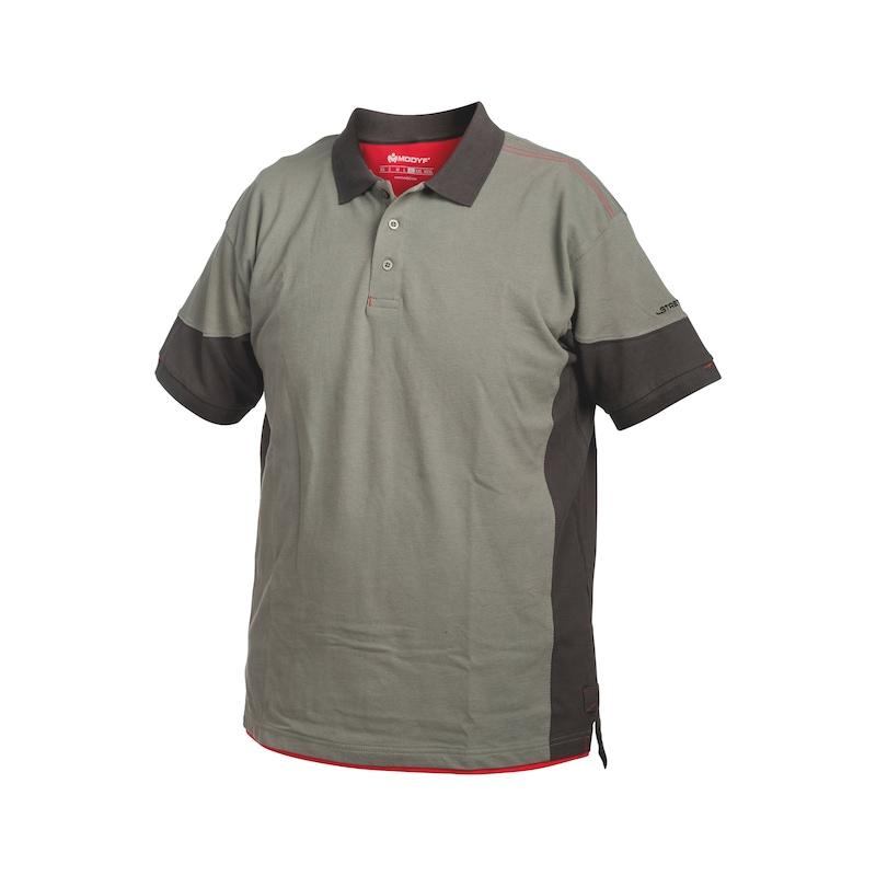 Stretchfit Poloshirt - POLO-SHIRT STRETCHFIT GRAU  XXL