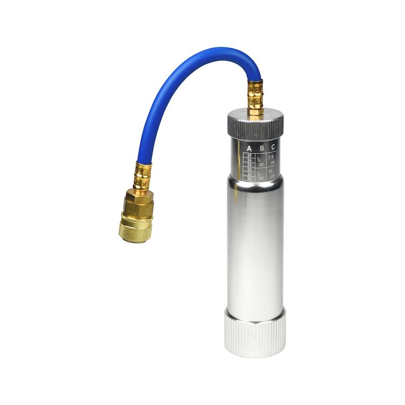 充填アダプター HFO-1234yfエアコンシステム用 - ACリークストップ R1234YF用注入アダプター