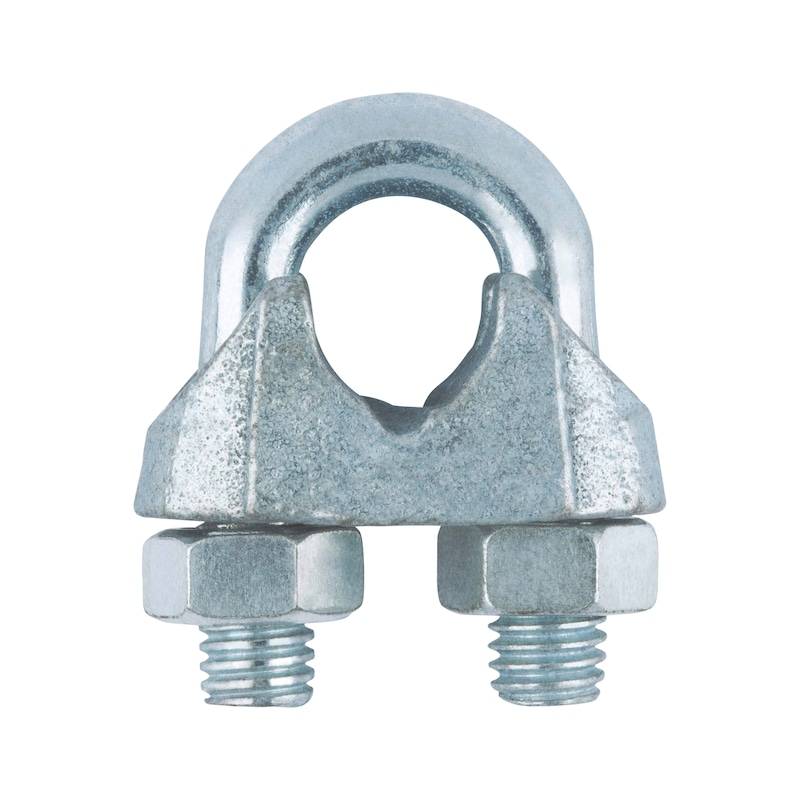 Wire rope clamp - 1