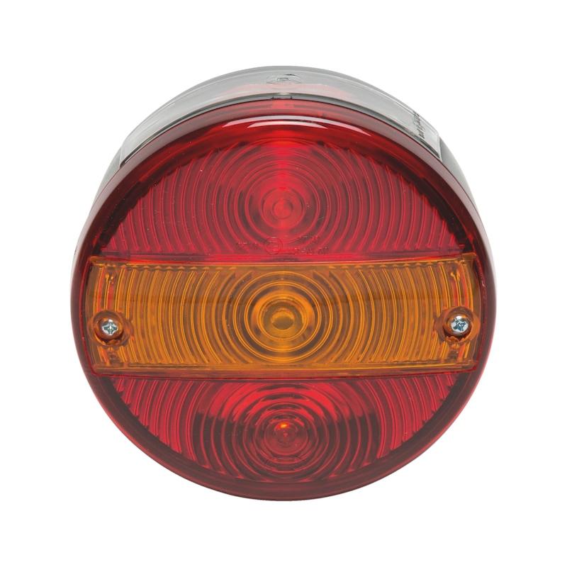 3-Kammer-Leuchte rund 24 V - LEUCHT-3KAM-RUND-HAMBURG-RECHTS/LINKS