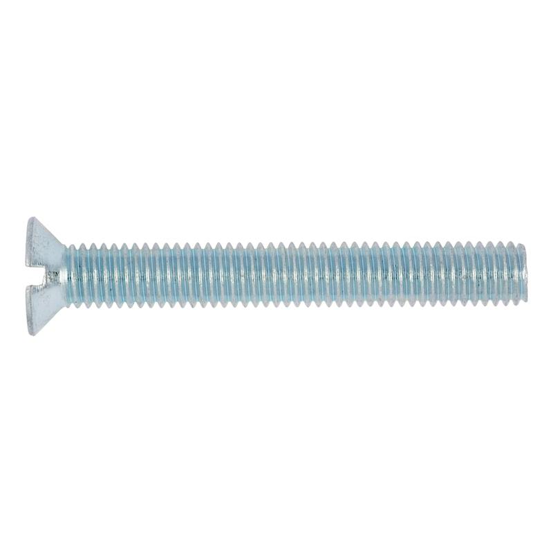 Senkschraube mit Schlitz - SHR-SEKPF-DIN963-4.8-(A2K)-M16X50