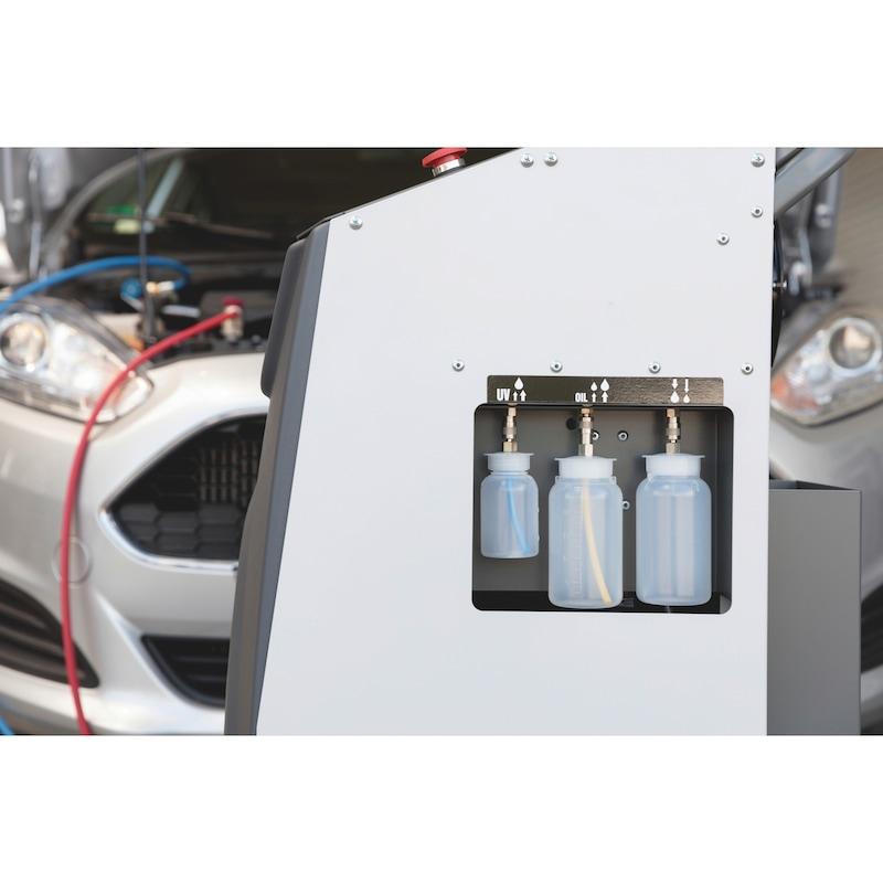 Station de recharge de climatisation mono-gaz R134a COOLIUS<SUP>® </SUP>A10 - LOT MACH.CLIM A10 + RACCORD R134A