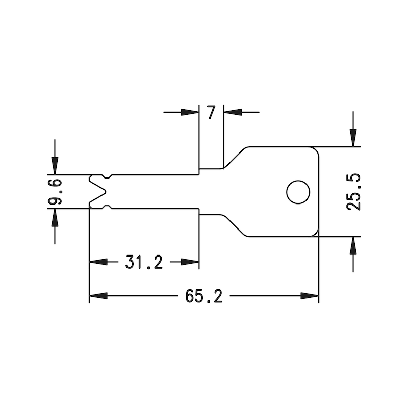 Profil-Halbzylinder 3KS Plus - 3
