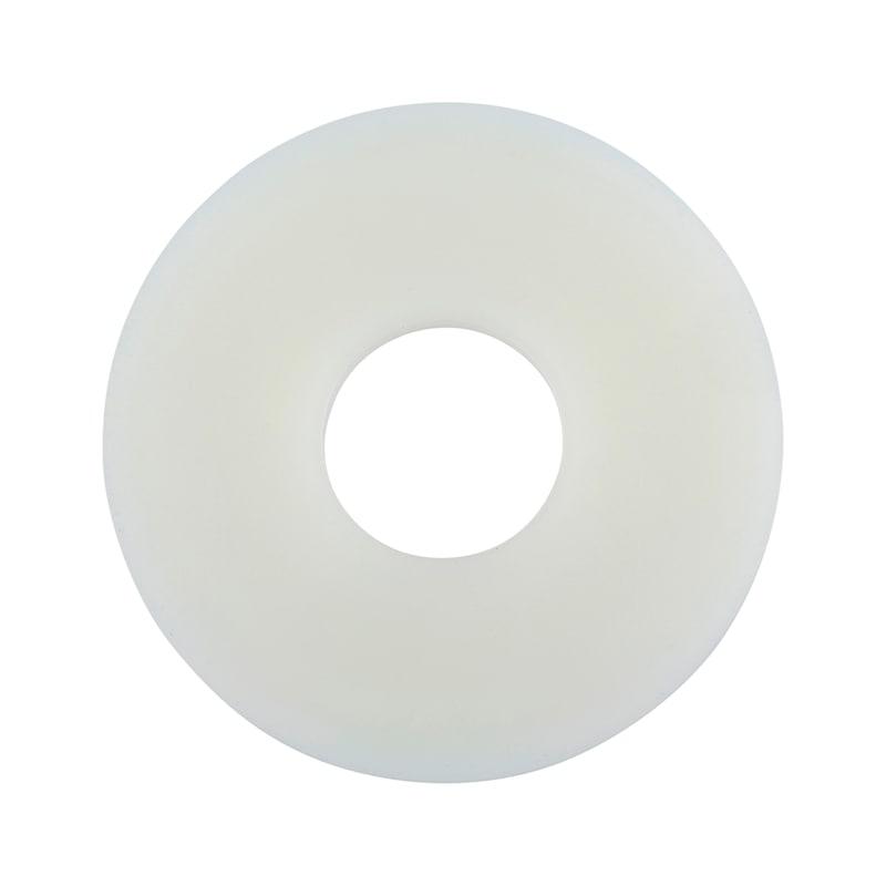 大外径のワッシャー - ポリアミドワッシャー 白 9021 8.4MM