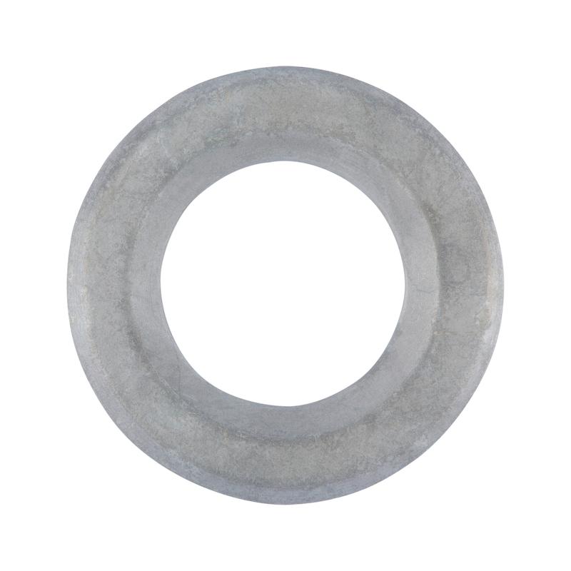 Flache Scheibe mit Fase für HV-Garnitur - SHB-HV-EN14399/6-K1-RD-(TZN)-D30