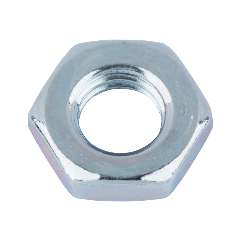 Hexagonal nut, low profile - 1