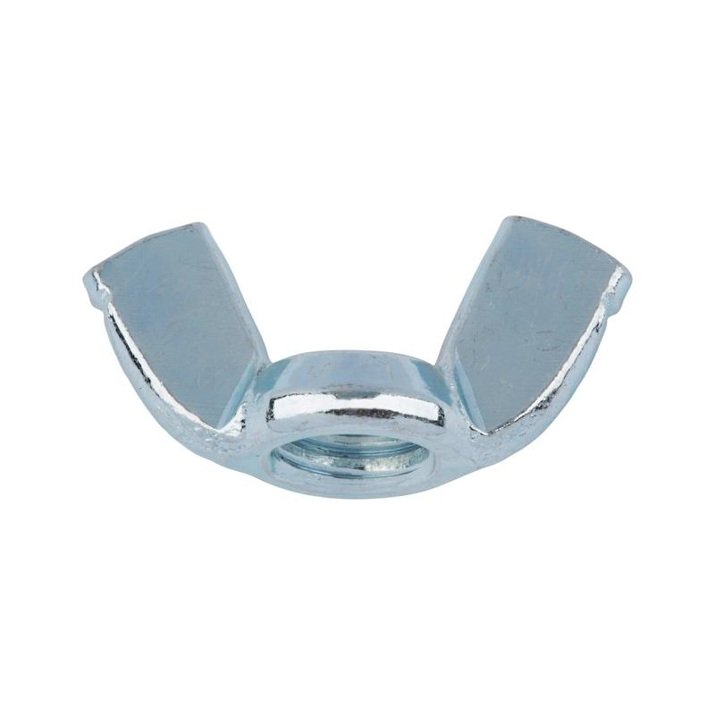 Ecrou à oreilles, forme aile à rebord (forme américaine) - ECR-OREILLE-AEDIN315-ES-(A2K)-M5