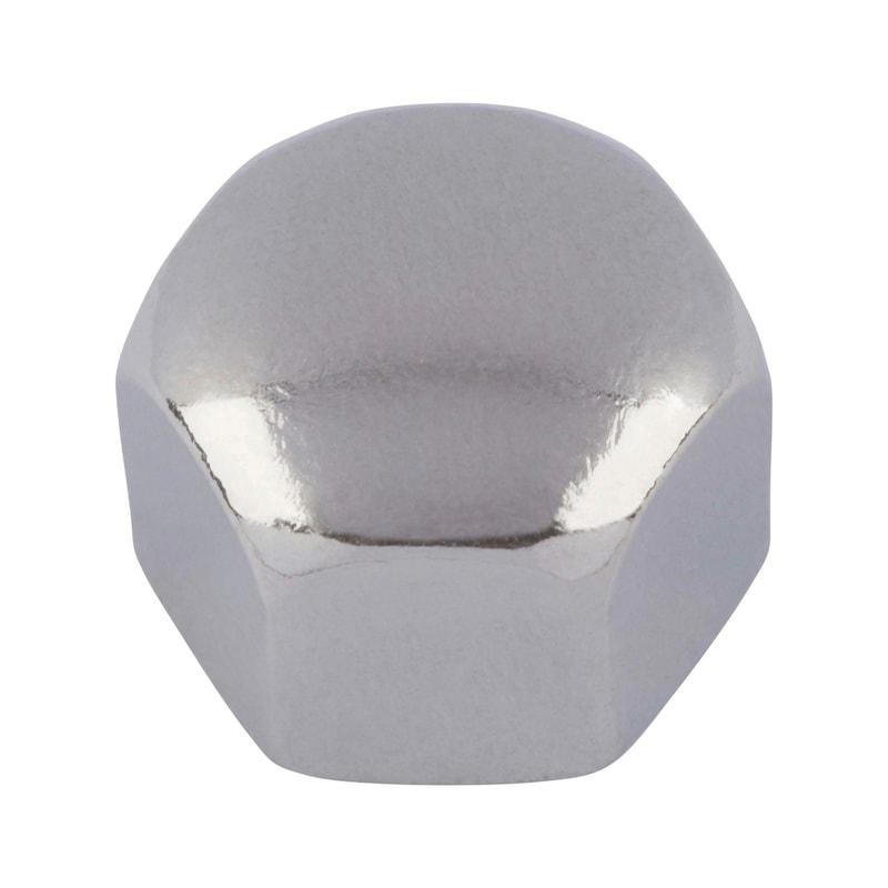 Sechskant-Hutmutter niedrige Form - MU-HUT-6KT-DIN917-A4-SW10-M6