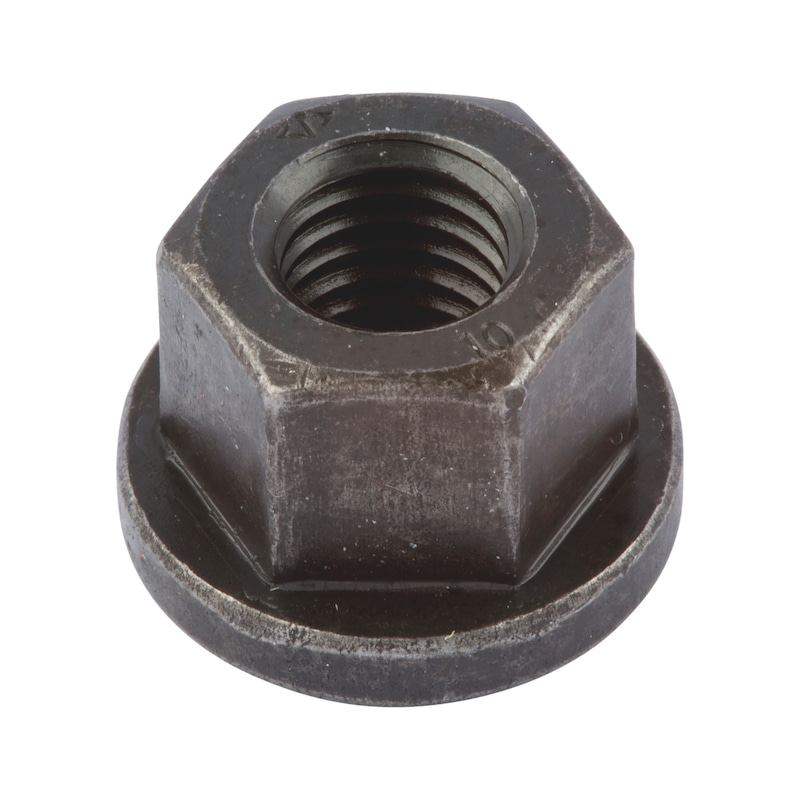 Sechskantmutter mit Bund 4 Stück M24 x 3,0  DIN