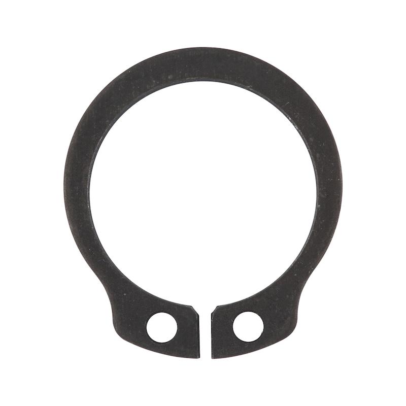 Circlip pour arbre, conception classique, formeA