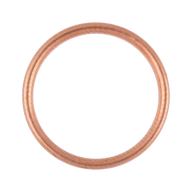 シールリング、銅フィリングシールC型 - 1