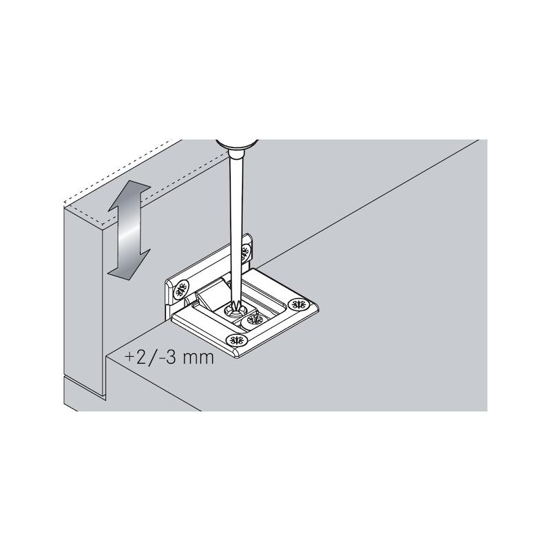 Flap hinge TIOMOS - 12