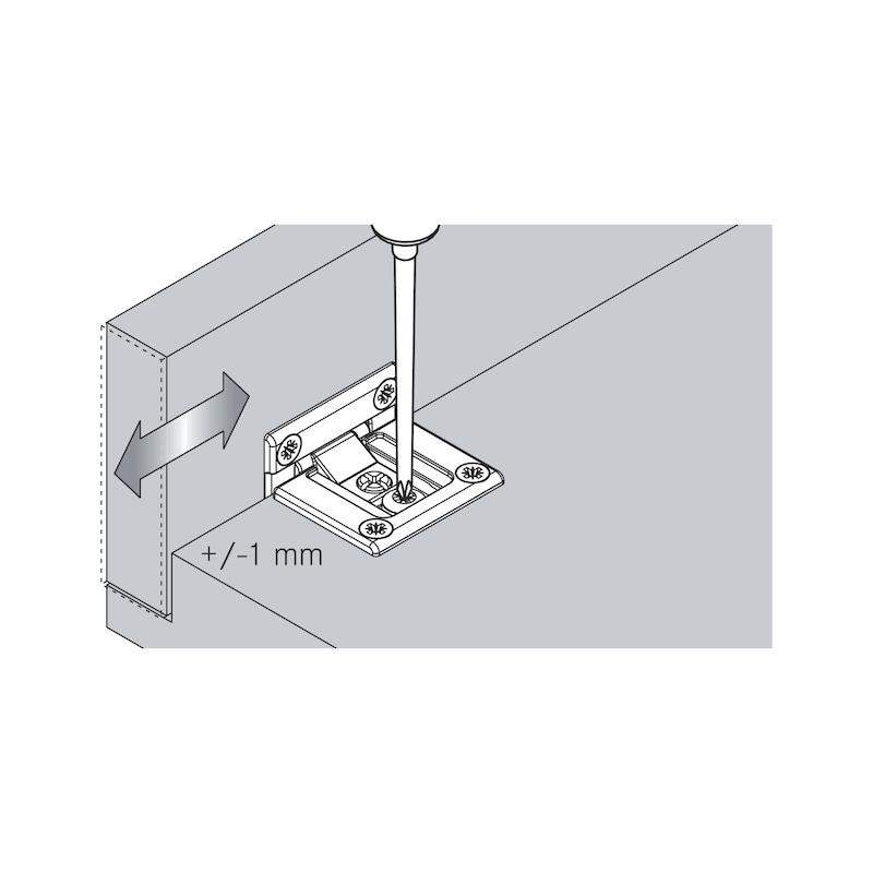 Flap hinge TIOMOS - 9