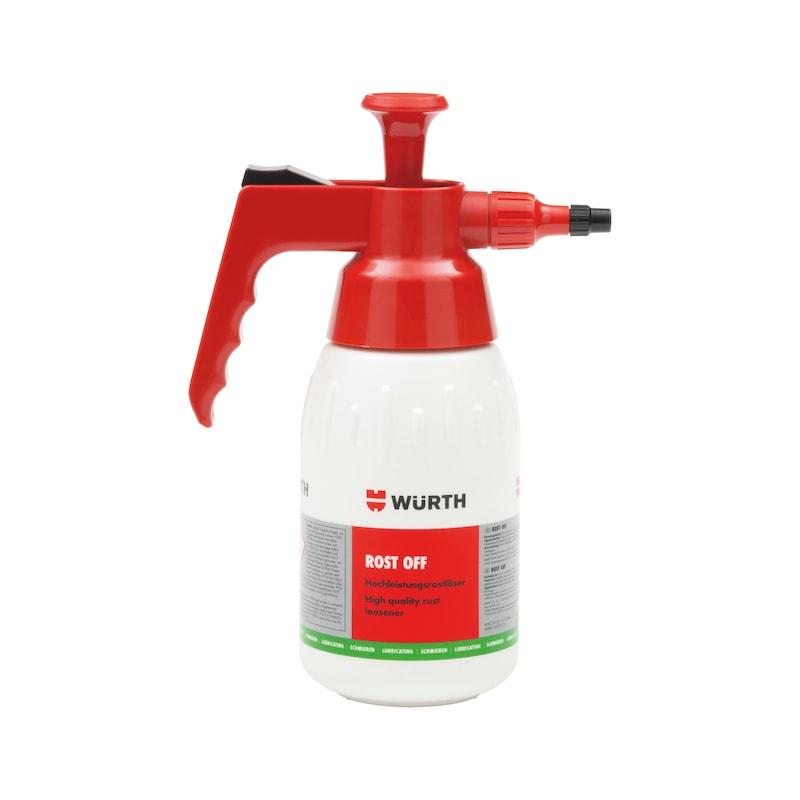 Product-specific pump spray bottle Unfilled - PMPSPRBTL-ROST-OFF-EMPTY-1LTR